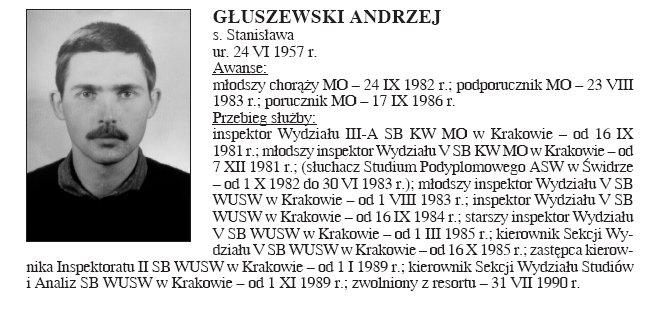 """2 - Ten mnie maglował dwa dni na KW - Komendzie Wojewódzkiej przy ul. Mogilskiej (on był ten """"dobry""""). Nie znalazłem trzeciego tego """"złego"""" który chciał na mnie ćwiczyć karate."""