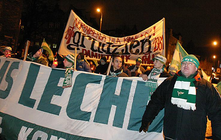 37 - Tadeusz na manifestacji