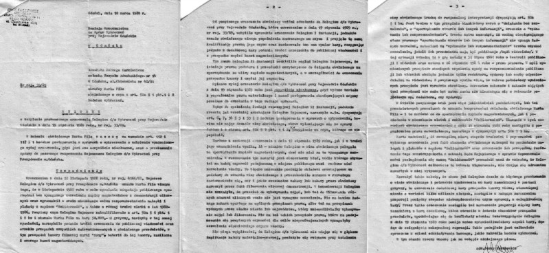 11 - Wniosek o uchylenie kolegium - mec. Karziewicz