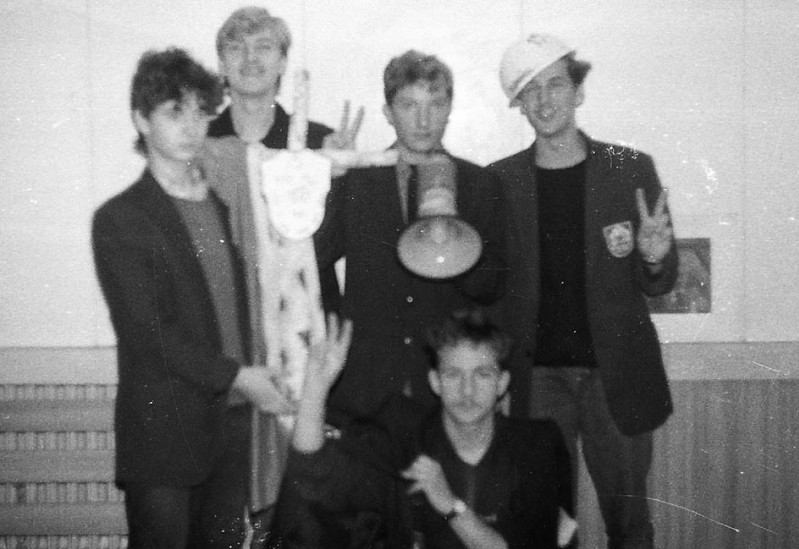 Rocznica Katynia w szkole w Gdańsku 1989