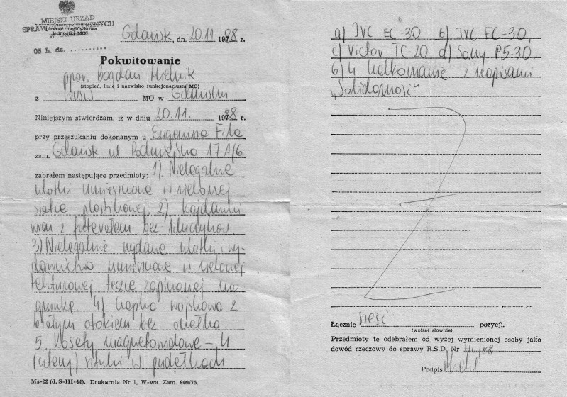 10 - Dokumenty z kolejnej rewizji z 1988 r.
