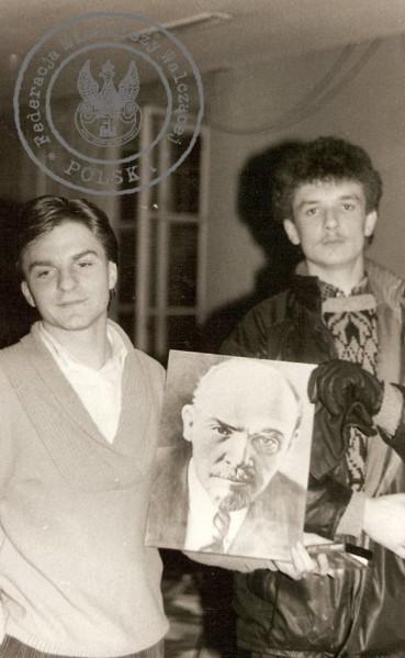 "3 - Od lewej: ""Bogdan"", ""Lutek"""