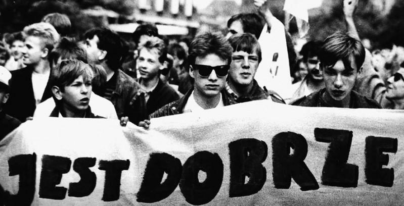 Manifa przeciwko Jaruzelskiemu