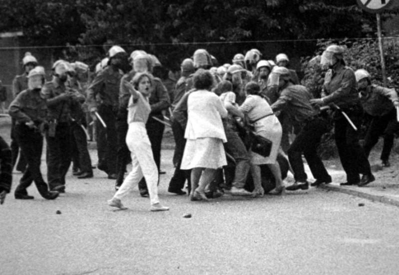 10 - Zadyma pod Brygida po 1 maja 1988 r.