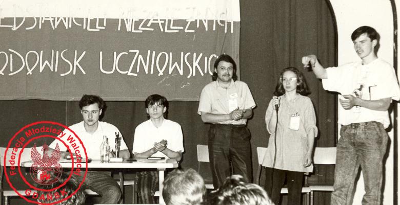 2 - Zebranie założycielskie NUMS-u, 1989 r.