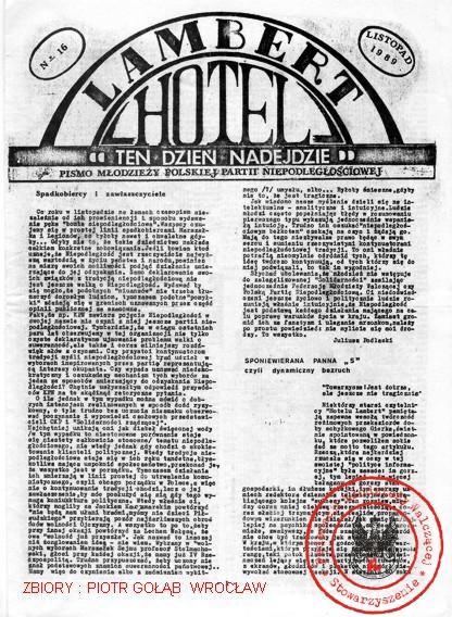 LAMBERT HOTEL NR 16