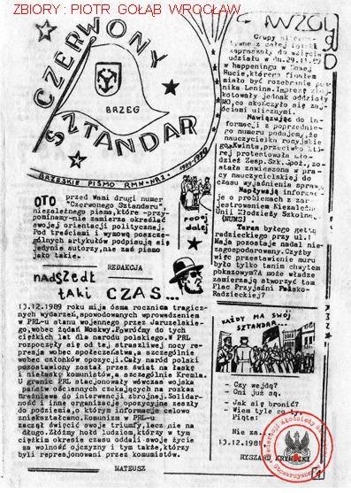 CZERWONY SZTANDAR NR 2 (BRZEG)