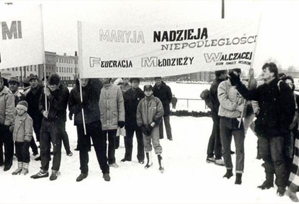 """""""Nasz"""" transparent w latach 80"""