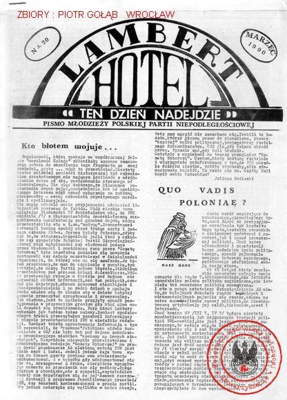 LAMBERT HOTEL NR 20