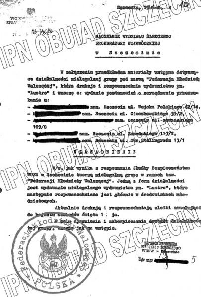 2 - Postanowienie Prokuratury o rewizji