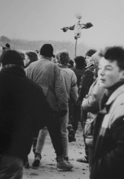 Happening w Sopocie - topienie marzanny