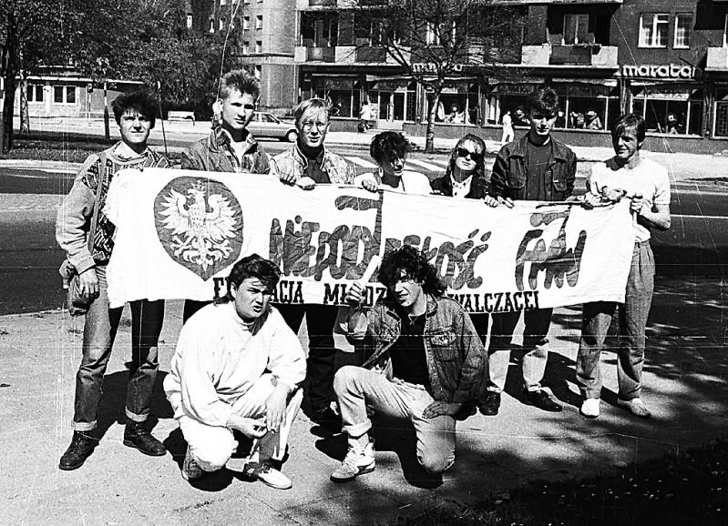 25 - Ekipa FMW w Gdańsku - 1989/90 r.