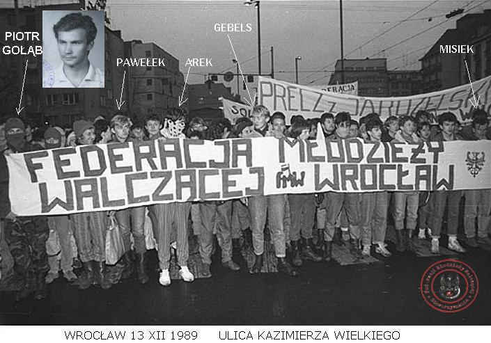 Wrocław 13 grudnia 1989 - opis