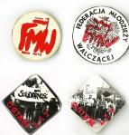 Znaczki wydane przez FMW w Krakowie