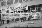 FMW i NZS we Wrzeszczu - manifestacja