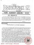 DZWONEK NR 12