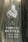 Odznaczenie pośmiertne dla Tadeusza Duffeka