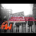 30 rocznica demonstracji w sprawie usunięcia pomnika Lenina